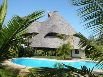 Villa Holiday in Galu Kinondo Diani Beach