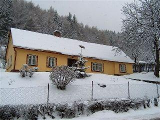 Yellow Cottage in Zacler