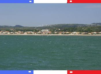 WiFi Apartment+Meerblick BELLEVUE in Narbonne Plage