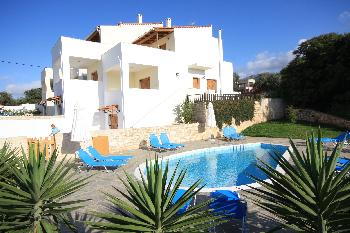 Exclusive Villa 1 mit Pool Kreta in Rethymno