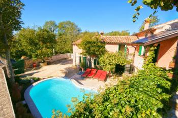 Restaurierte istrische Villa, privater Pool, Strand in 15 min