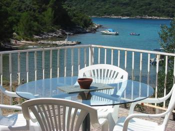 Ferienhause in Korcula am Meer mit Privatstrand