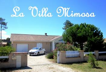 Villa Mimosa - Traumhaus am Meer in Montalivet-les-Bains