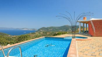 Pool Villa Lithi in Insel Natur in Skopelos
