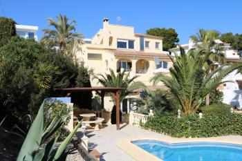Villas Fortuna Haupthaus in Moraira