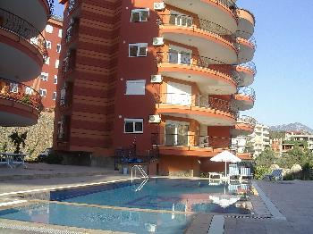 Alcon Ferienresidence mit Pool in Alanya