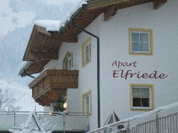 Apart Elfriede in Hippach