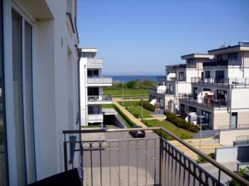 Apartment mit Ostseeblick in Börgerende