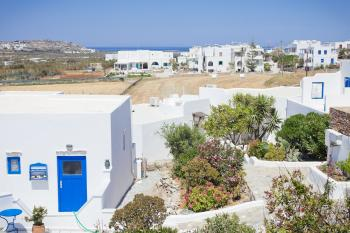 Agia Anna Hill in Naxos