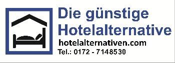 Hotelalternativen, Ferienwohnungen, Apartments, Pensionen, Hotels
