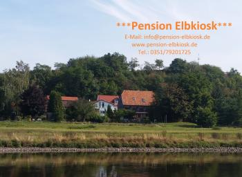 Pension-Elbkiosk direkt am Elberadeweg
