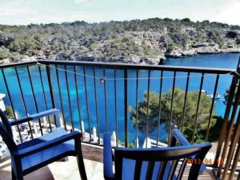 Pension am Hafen in Cala Figuera